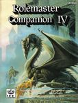 RPG Item: Rolemaster Companion IV