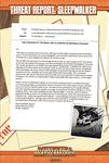 RPG Item: Threat Report #28: Sleepwalker
