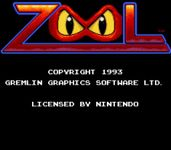 Video Game: Zool