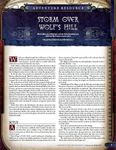 RPG Item: Storm Over Wolf's Hill