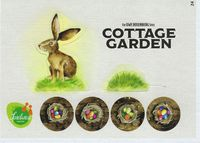 Board Game: Cottage Garden: The Easter Bunny