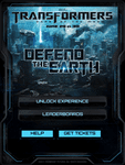 Video Game: Transformers 3: Defend The Earth
