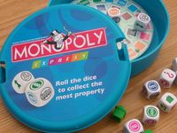 Board Game: Monopoly Express