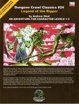 RPG Item: DCC #024: Legend of the Ripper