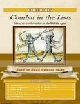 Board Game: Combat in the Lists