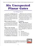 RPG Item: Six Unexpected Planar Gates