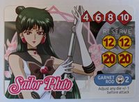 Board Game: Sailor Moon Crystal: Dice Challenge – Sailor Pluto Promo