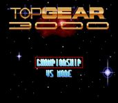Video Game: Top Gear 3000