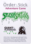 Board Game: Order of the Stick Adventure Game: Sticky Shticks