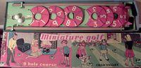 Board Game: Miniature Golf