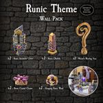 RPG Item: Runic Theme Wall Pack