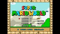 Video Game: Super Mario World