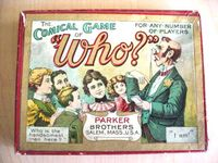 Board Game: The Comical Game of Who?
