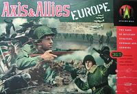 Board Game: Axis & Allies: Europe
