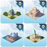 Board Game Accessory: Quadropolis: Monuments of the World