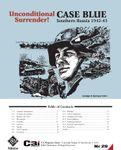 Board Game: Unconditional Surrender! Case Blue