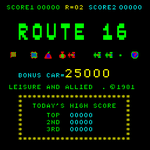 Video Game: Route 16