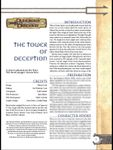 RPG Item: The Tower of Deception