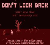 Video Game: Don't Look Back