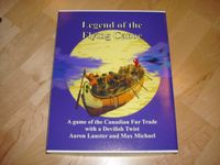 Board Game: Legend of the Flying Canoe