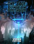 RPG Item: One Page Dungeon Compendium: 2013 Edition