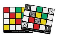 Board Game: Sagrada: Promo 3 – International Tabletop Day Window Pattern Card