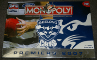 Board Game: Monopoly: Geelong Football Club 2007 Premiership Charity Edition