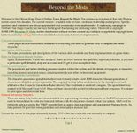 RPG Item: Yellow Tome: Beyond the Mists