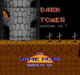 Video Game: Dark Tower