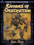 RPG Item: Monster Menagerie #03: Engines of Destruction