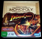 Board Game: Monopoly: Indiana Jones