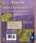Board Game: Steam: Map Expansion #1