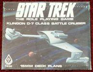 RPG Item: Klingon D-7 Class Battle Cruiser 15MM Deck Plans