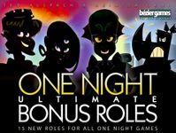 Board Game: One Night Ultimate: Bonus Roles