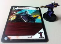 Board Game Accessory: Dungeon Command: Drow Wizard Promo