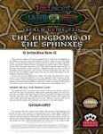 RPG Item: Land of Fire Realm Guide #22: The Kingdoms of the Sphinxes