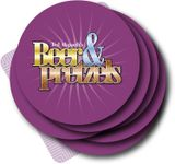 Board Game: Beer & Pretzels: Purple Coaster Expansion