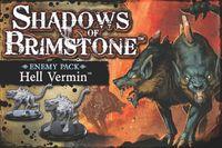 Board Game: Shadows of Brimstone: Hell Vermin Enemy Pack