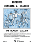 RPG Item: The Rogues Gallery (AD&D 1e)