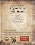 RPG Item: A Quiet Drink With Enemies
