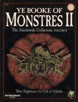RPG Item: Ye Booke of Monstres II