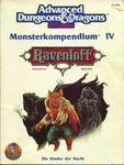 RPG Item: Monsterkompendium IV: Rabenhorst Appendix
