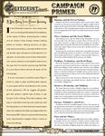 RPG Item: Zeitgeist Player Primer