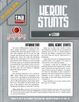 RPG Item: Modern: Heroic Stunts