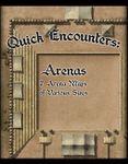 RPG Item: Quick Encounters: Arenas
