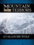 RPG Item: Mountain Terrors: Avalanche Wolf