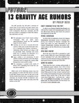 RPG Item: 13 Gravity Age Rumors