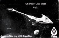 RPG Item: Adventure Class Ships Volume 1 (Boxed Set)