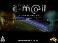 Video Game: Em@il Games: X-COM