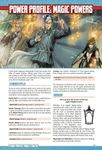 RPG Item: Power Profile #12: Magic Powers